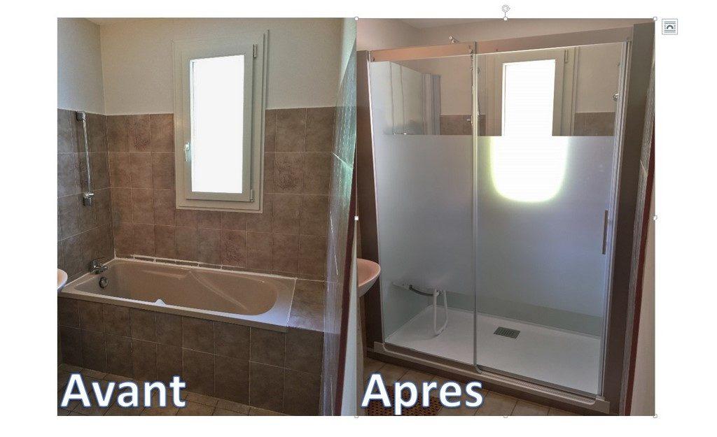 remplacement baignoire douche