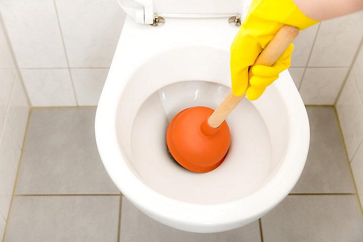 Remédier au problème de WC bouché en hiver