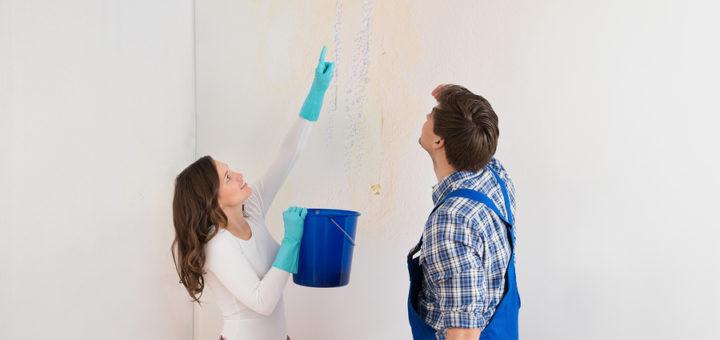 Que faire en cas de fuite d'eau au plafond