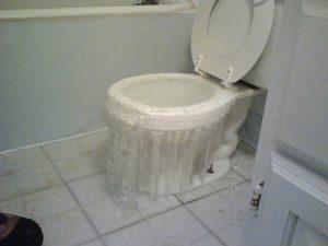 Toilette qui déborde : que faire