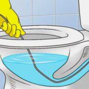 WC sanibroyeur bouché