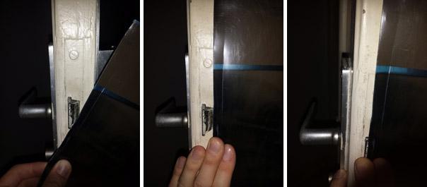 Astuces pour ouvrir une porte claquée