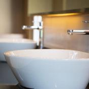 Installation d'une vasque ou d'un lavabo