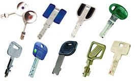 Les différents types de clés