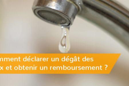 Dégât des eaux et assurance