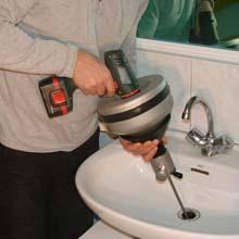 Débouchage siphon du lavabo